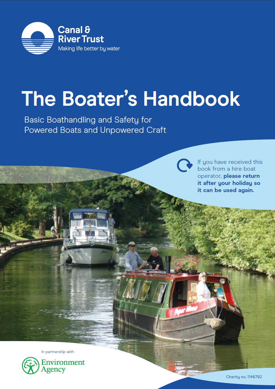 Canal and River Trust Boater's Handbook