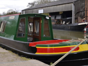 front of boat